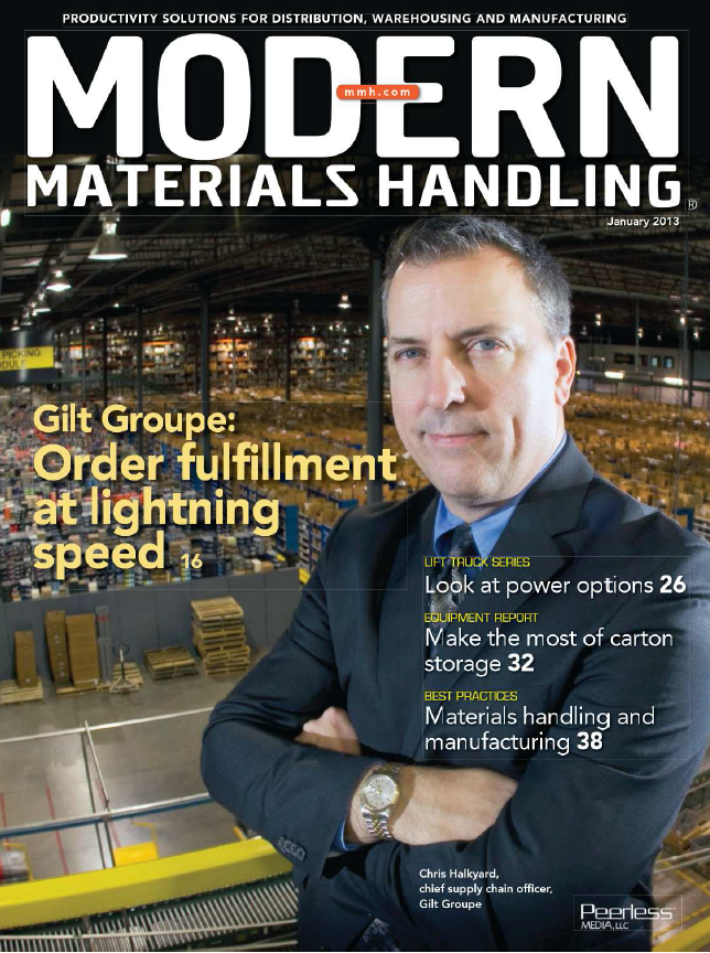 Cover of MHM Portfolio of Material Handling Marketing